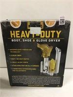 HEAVY DUTY BOOT SHOE & GLOVE DRYER