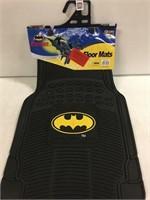 2 PC SET BATMAN FLOOR MATS
