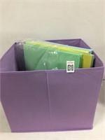 4PCS FOLDABLE STORAGE BOX