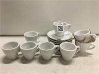 ESPRESSO SHOT GLASS WITH PLATE 15PCS