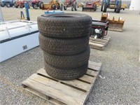 (4) Michelin LT265/70R18 Tires