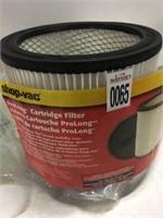 SHOP-VAC PROLONG CARTRIDGE FILTER