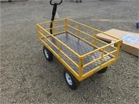 Unused Gorilla Oversize Garden Cart