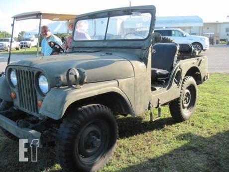 Willys Jeep Truck For Sale >> Lot 1955 Willys Jeep Truck For Sale In Clewiston Florida