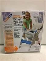 PAPPED POTTY SEAT WITH STEP STOOL