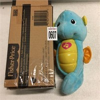 FISHER PRICE SOOTHER GLOW SEAHORSE