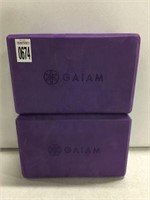GAIAM FOAM SET OF 2
