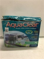 AQUACLEAR (SOLD AS IS)