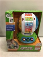 LEAP FROG SPING & SING ALPHABET ZOO