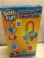 BATH FUN ROBOT FOUNTAIN