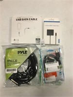 ASSORTED CABLES