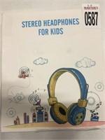 STEREO HEADPHONES FOR KIDS
