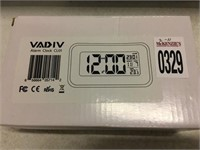 VADIV ALARM CLOCK