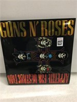 GUNS N ROSES RECORD ALBUM