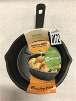 MINI OVEN TO TABLE CAST IRON 6IN