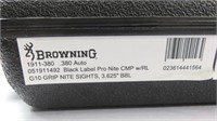 Browning Arms Co. MOdel 1911 Pistol SN: 51HZR06721