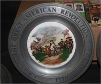 """The Great  American Revolution"" Plate Collection"