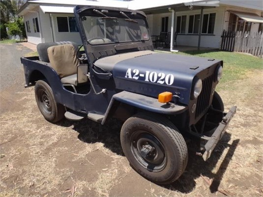 1953 Mitsubishi Jeep J3 - Light Commercial for Sale