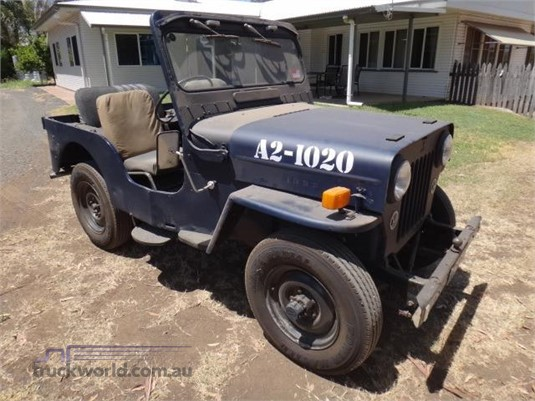 1953 Mitsubishi Jeep J3 Western Traders 87 - Light Commercial for Sale