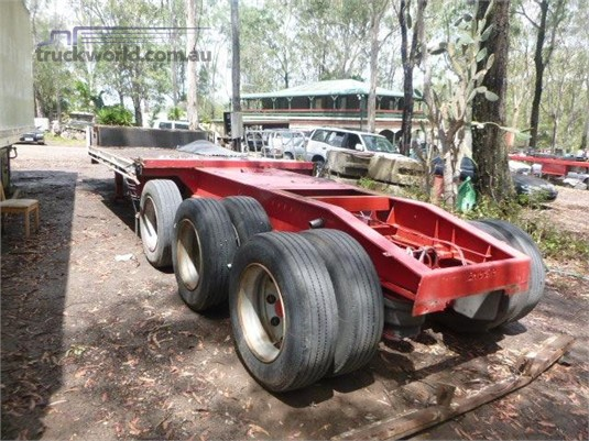 2008 Barker Flat Top Trailer Trailers for Sale