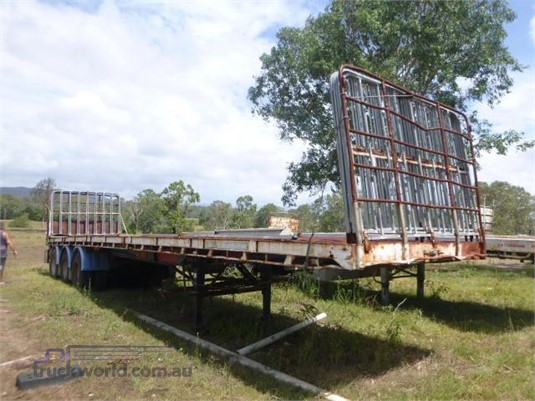 1986 Freighter Flat Top Trailer Trailers for Sale