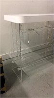 MCM Lucite Stand up Bar with Formica top, Wine