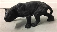 Cast resin black panther 10 inches tall 24 inches