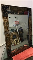 """Unique large  wall mirror heady frame 30""""x40"""""""