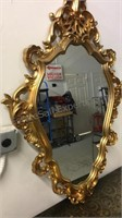 Syroco Style Oval Mirror