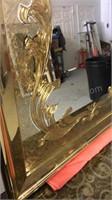 Large framed mirror 36 x 50