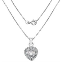 Sterling Silver Cubic Zirconia  Pendant (189 -