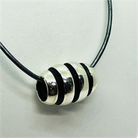 Sterling Silver Bead (8G)  Necklace (149 - JT58)