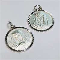 Sterling Silver 2  Pendant (~weight 3.5g) (187 -
