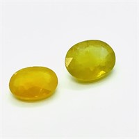 Enhnaced Yellow Sapphire(8 to 10cts) (111 - JT58)