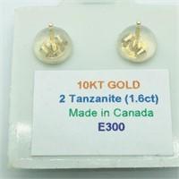 10K Yellow Gold Tanzanite (December