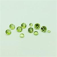 Genuine Peridot (2Mm - 5Mm) (3cts) (104 - JT58)