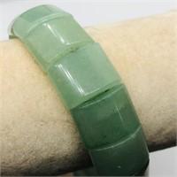 Jadeite  Bracelet (~weight 40.8g) (67 - JP311)