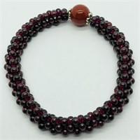 Garnet Flexible Bracelet (~weight 16.5g) (57 -