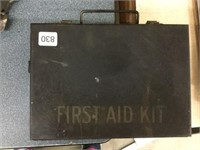 "Early first aid kit 9"" x 7"""