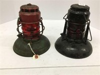 Two early lanterns
