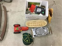 Box of assorted toys and collectables