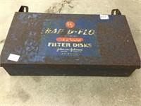 "Rapid flow filters steel box 7"" x 14"""