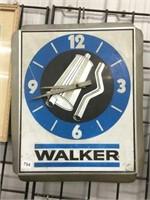 """Walker muffler clock 18"""" x 14"""""""