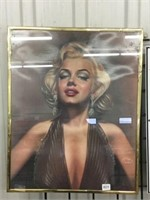 "Marilyn Munro framed picture 16"" x 20"""