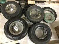 10 tire ashtrays
