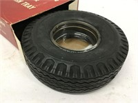 Fire stone tire ashtray with box