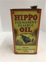 Hippo 1 gallon oil can full