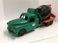 Structo pressed steel cement truck