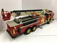 Plastic fire truck