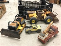 Group of assorted Tonka toys